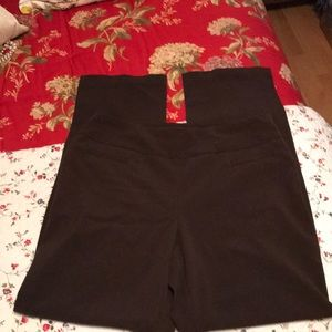 Dress barn brown pants trousers